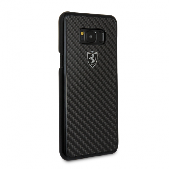FERRARI HERITAGE COLLECTION BLACK REAL CARBON FIBER CASE