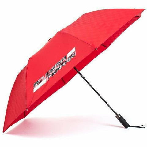 Scuderia Ferrari Formula 1 Authentic 2018 Red Compact Umbrella