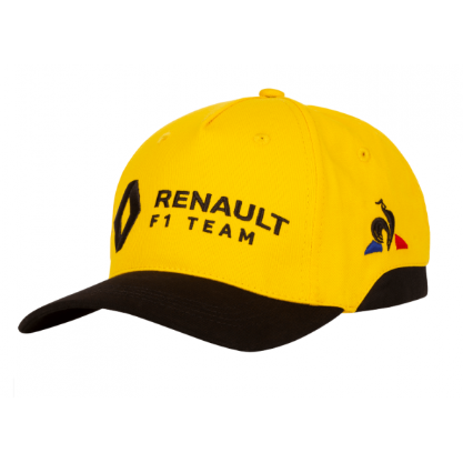 Renault F1 2019 Kids Team Hat Yellow