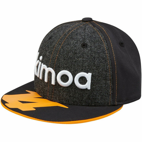 McLaren Official Fernando Alonso Kimoa Cap by New Era - Anthracite - Kids