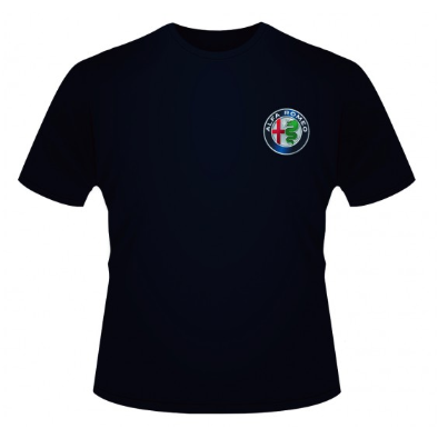Alfa Romeo Kids Blue Logo T-Shirt
