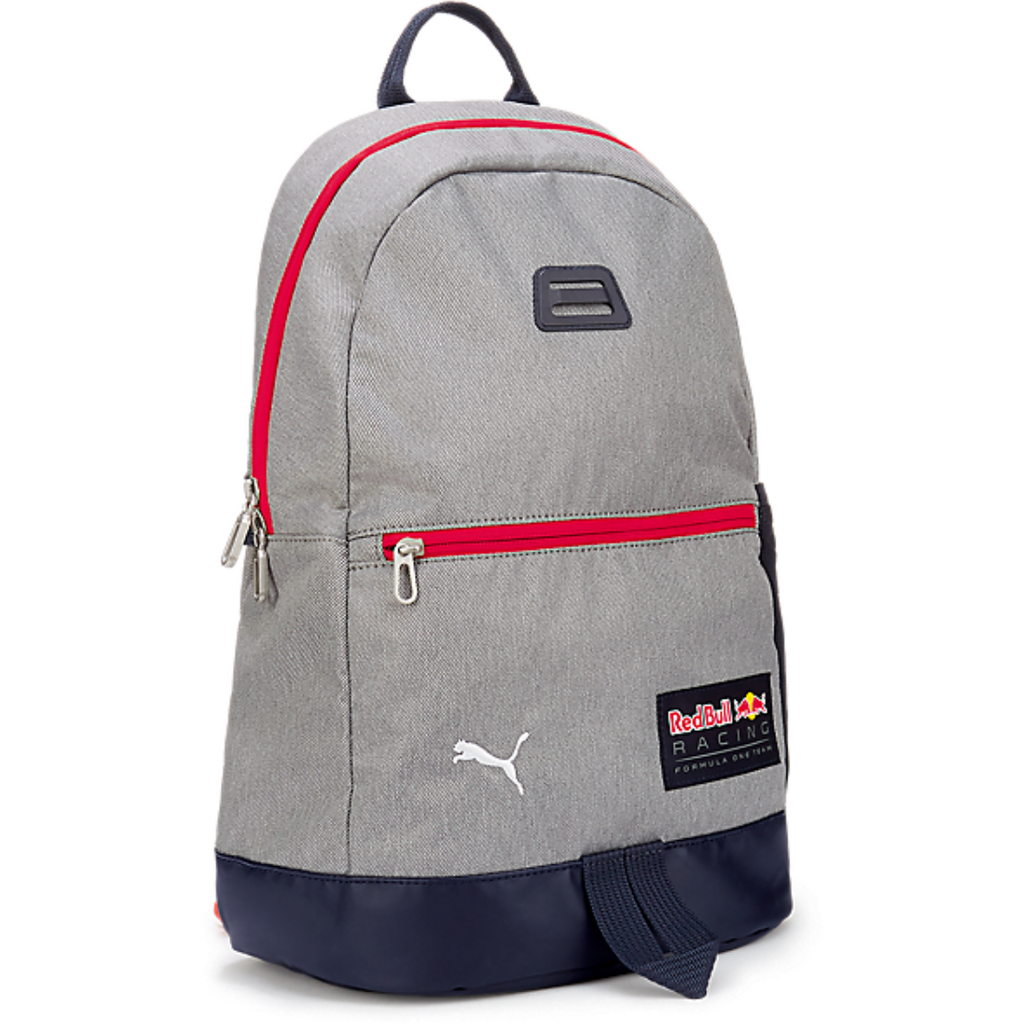 Red Bull Racing Lifestyle Team Backpack, Light Gray
