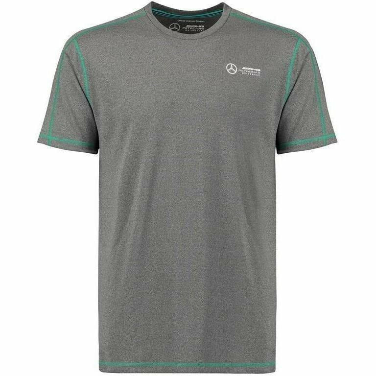 Mercedes Benz AMG Formula 1 Petronas Gray Performance 2018 T-Shirt