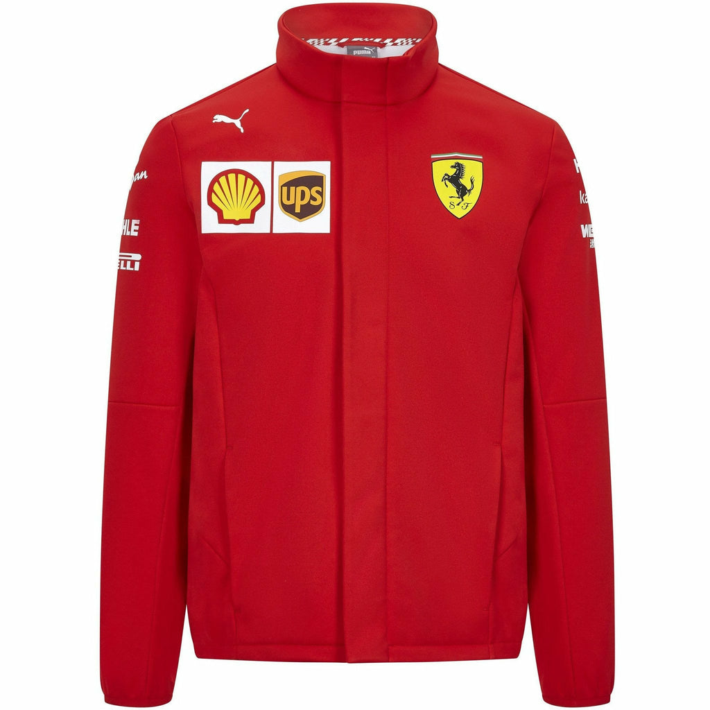 Scuderia Ferrari F1 Men's 2020 Team Softshell Jacket Red