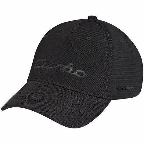 "Porsche ""Turbo"" Black Baseball Hat"