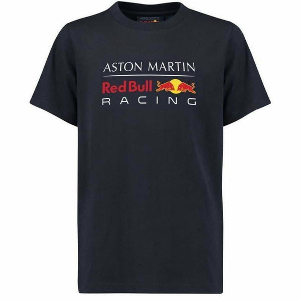 Red Bull Racing Aston Martin Kids Blue Authentic 2018 F1 T-Shirt