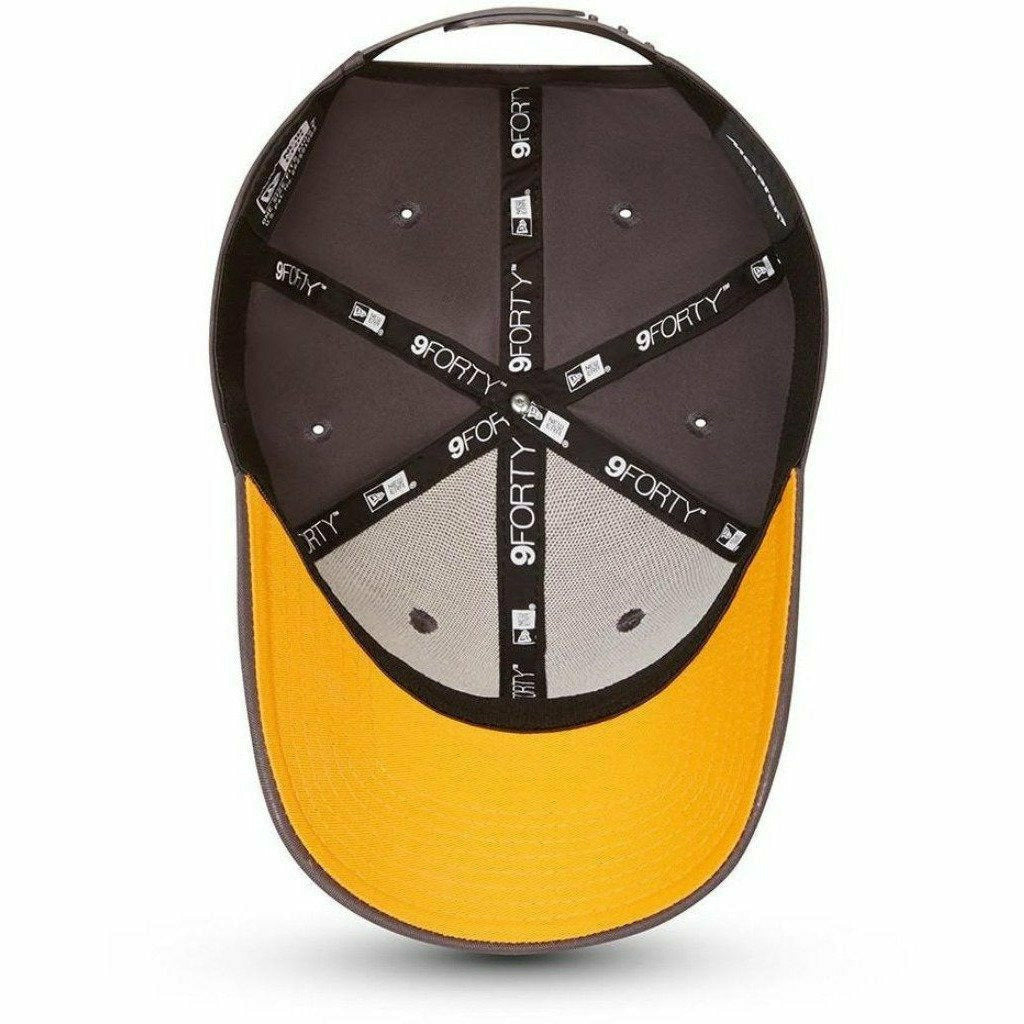 McLaren F1 Essentials New Era 9Forty Baseball Hat - Anthracite/Papaya
