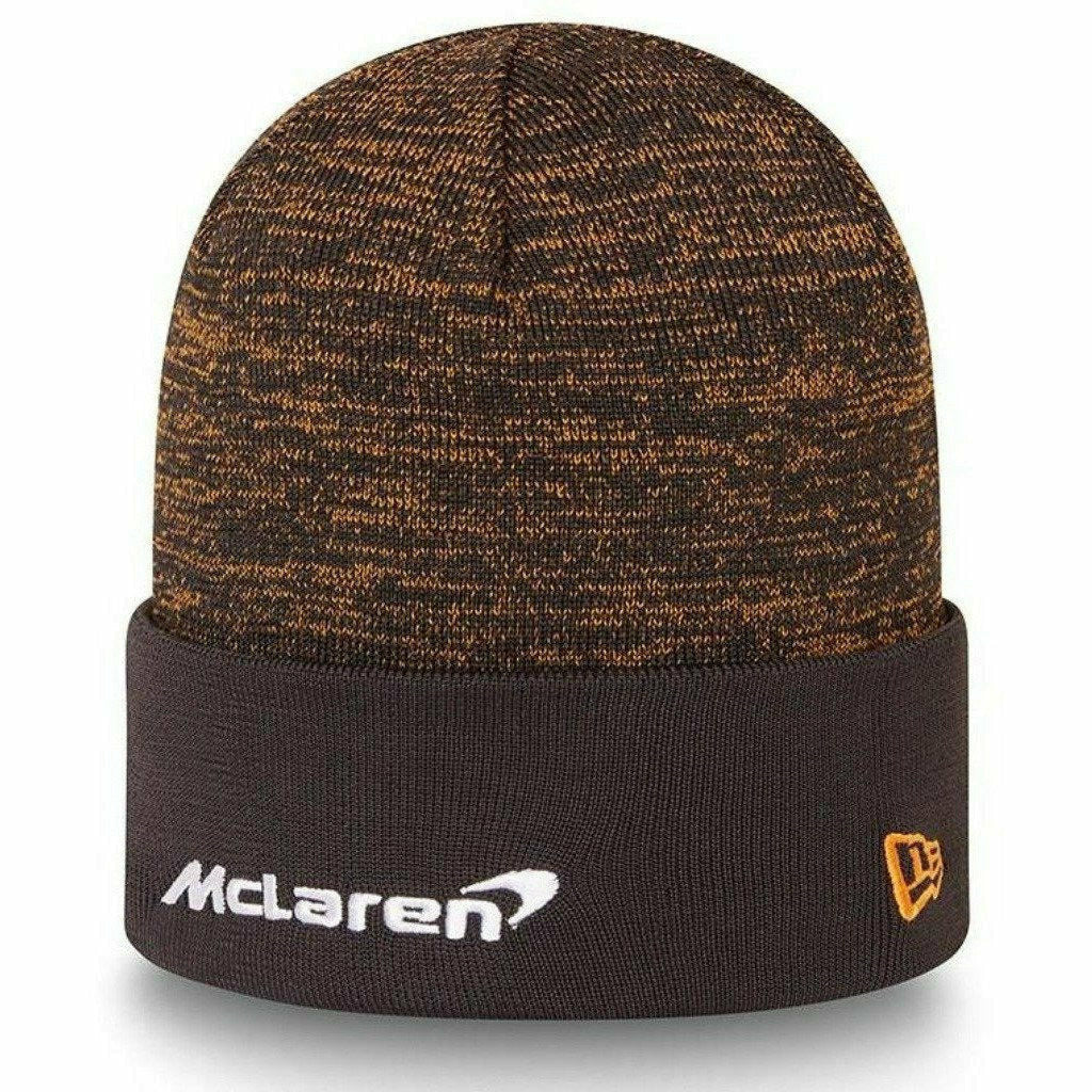 McLaren F1 Team 2021 Daniel Ricciardo New Era Knit Beanie - Anthracite