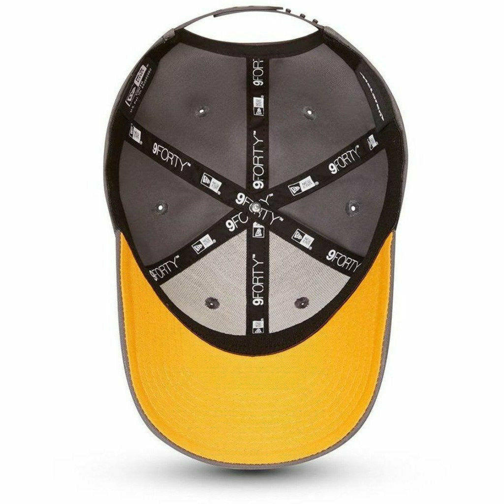 McLaren F1 Kids Essentials New Era 9Forty Baseball Hat - Youth Papaya/Anthracite