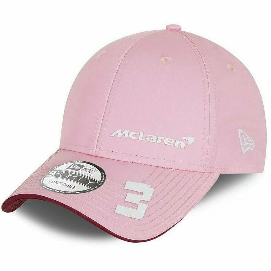 McLaren F1 New Era 9Forty Daniel Ricciardo Special Edition Singapore Hat-Pink