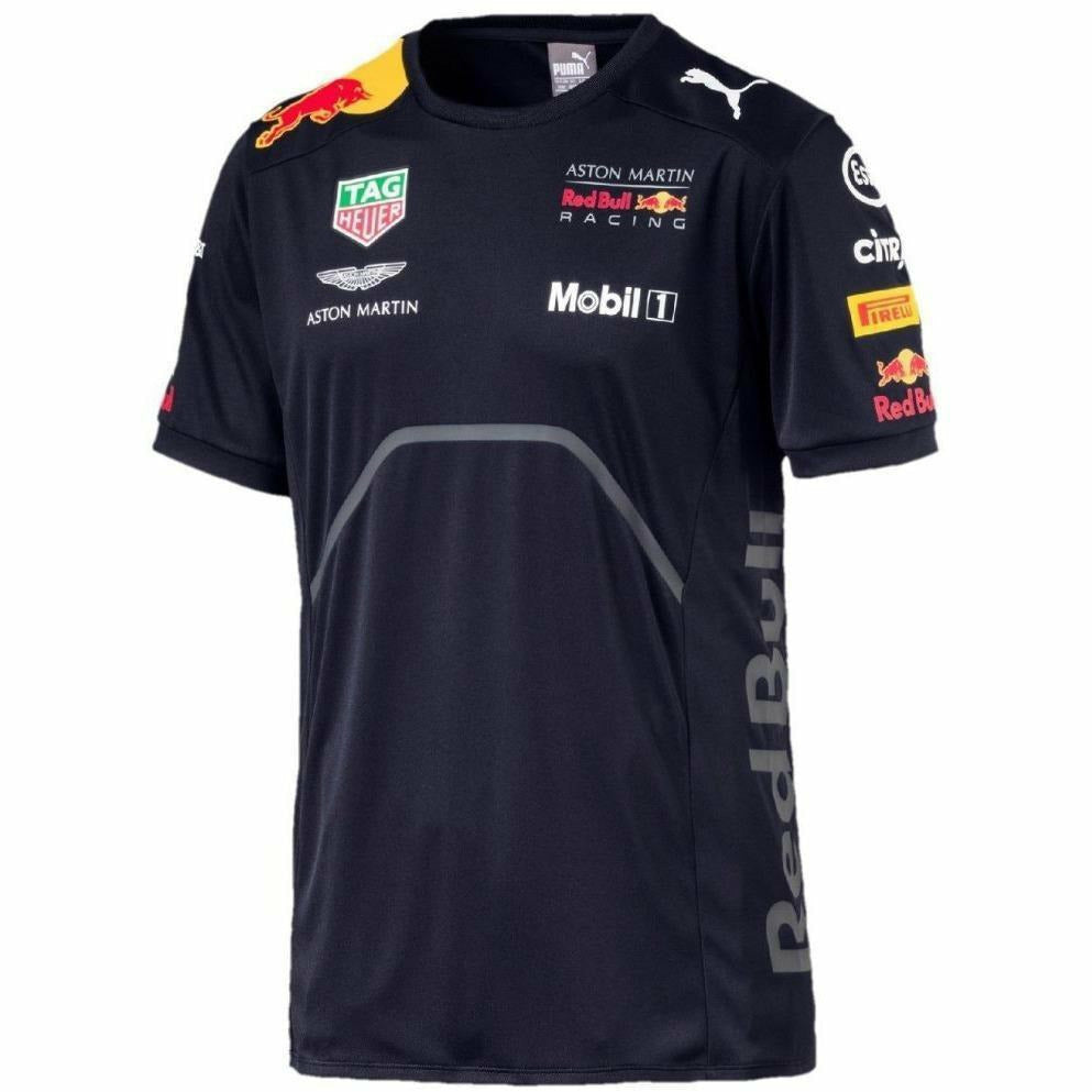 Red Bull Formula 1 Aston Martin 2018 Team Blue Team T-Shirt