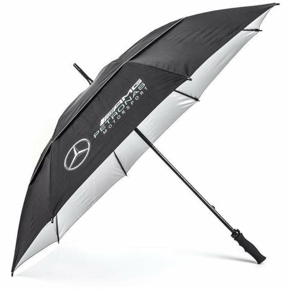 Mercedes Benz Petronas AMG Formula 1 2018 Black Golf Umbrella