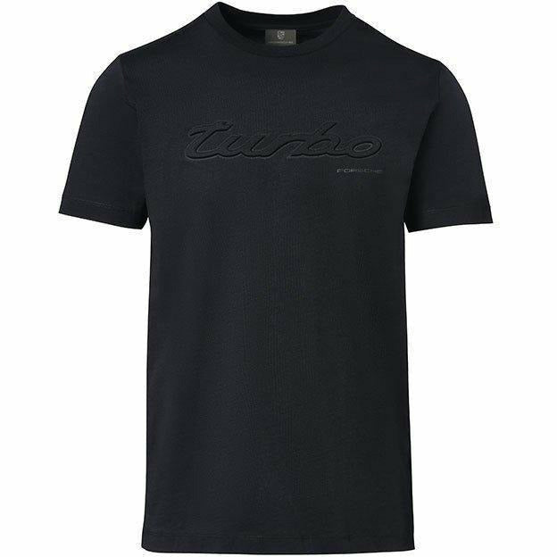 Porsche Men's Turbo Black T-Shirt
