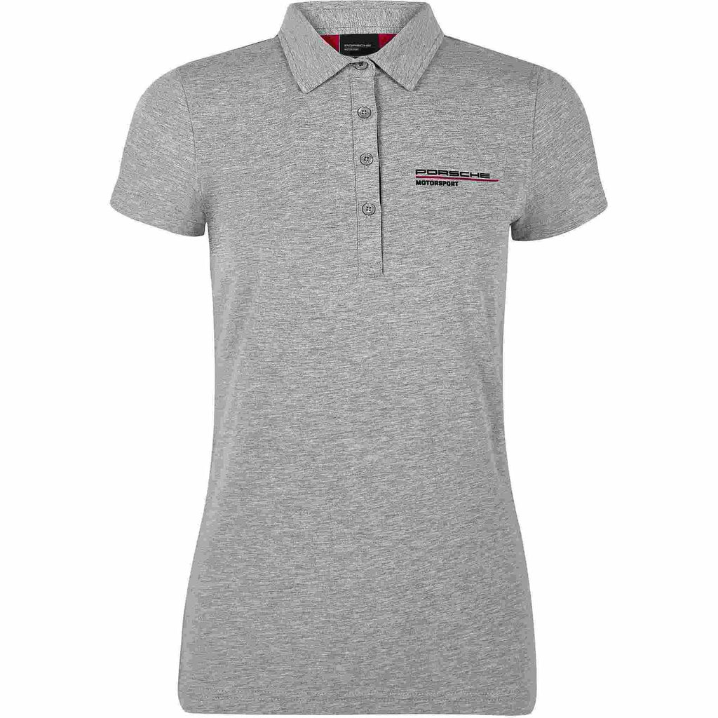 Porsche Motorsport Women's Gray Polo