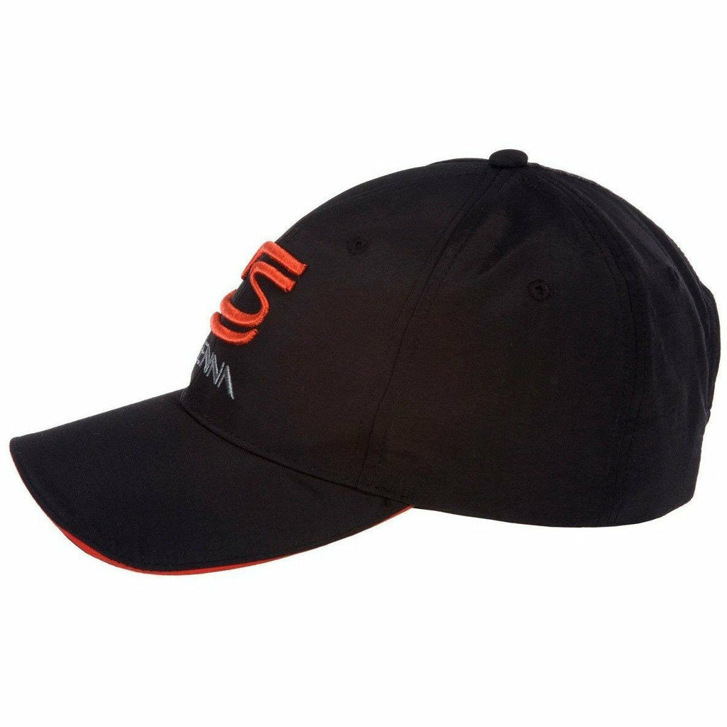 Ayrton Senna Authentic Black Hat with Double S Logo