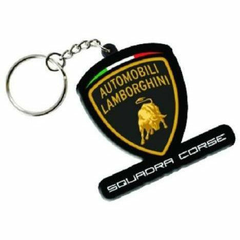 Lamborghini Squadra Corse 2019 Key Holder PVC Black