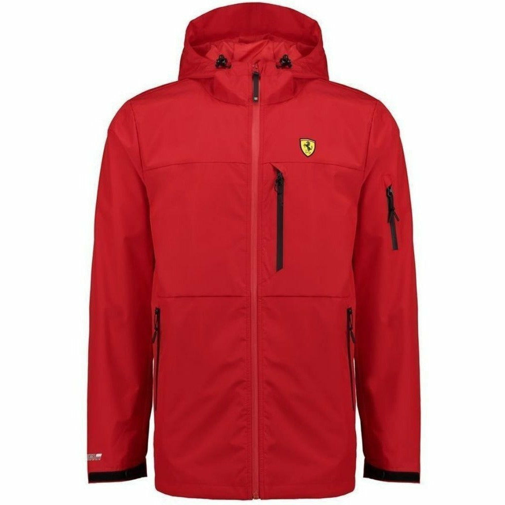 Scuderia Ferrari Formula 1 Men's 2018 Red Rain Jacket