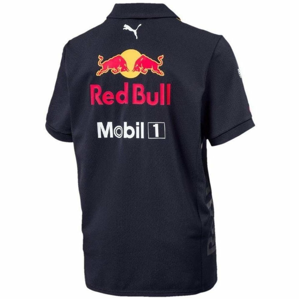 Red Bull Racing Formula 1 Aston Martin Kids 2018 Team Polo Shirt