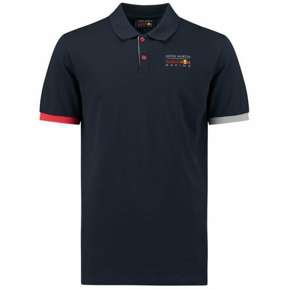 Red Bull Racing Formula 1 Men's Blue Authentic 2018 Polo F1