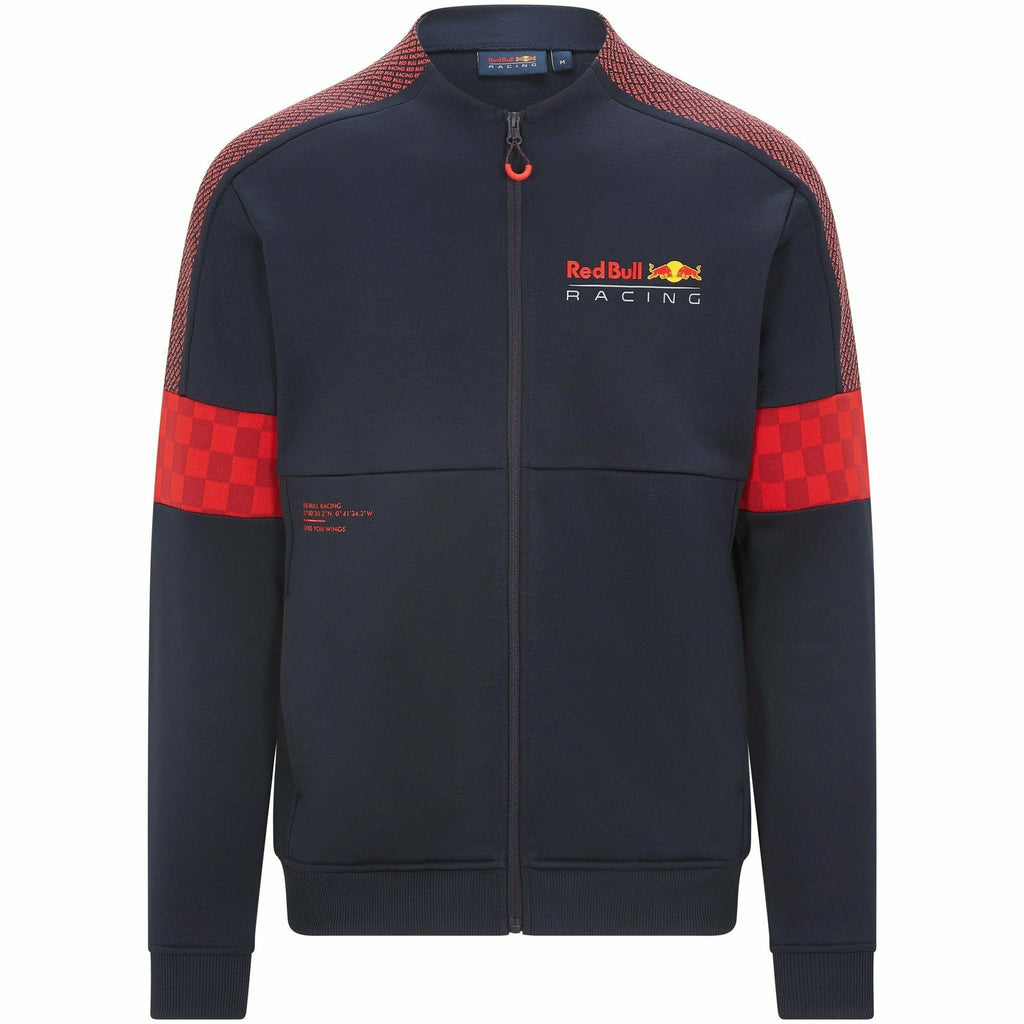 Red Bull Racing F1 Men's Track Top Jacket -Navy