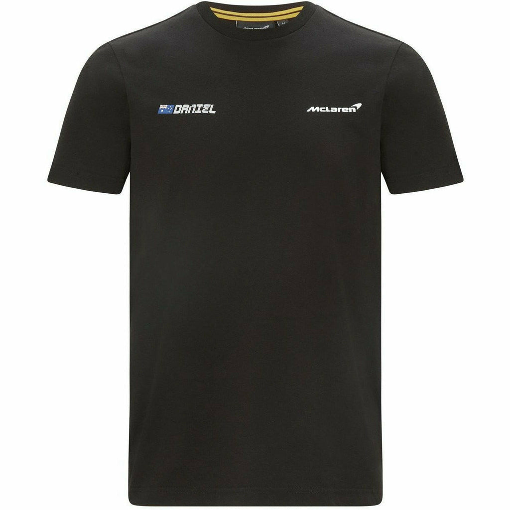 McLaren F1 Men's Daniel Ricciardo #3 T-Shirt -Black/White