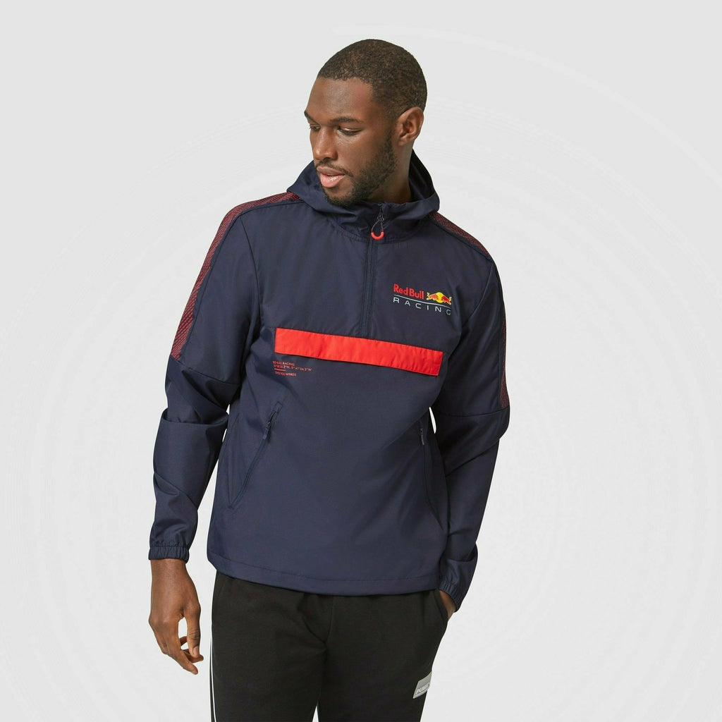 Red Bull Racing F1 Men's Windbreaker - Navy