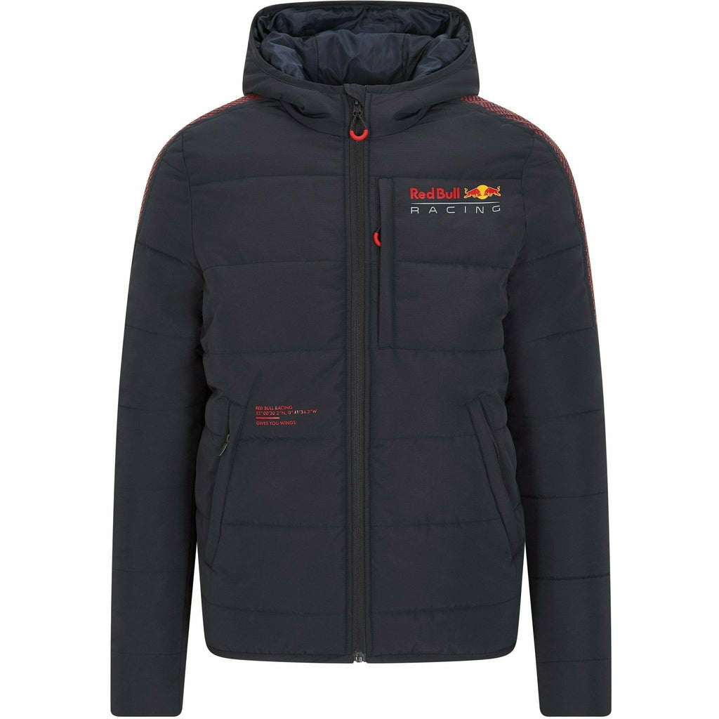 Red Bull Racing F1 Men's Padded Jacket- Navy