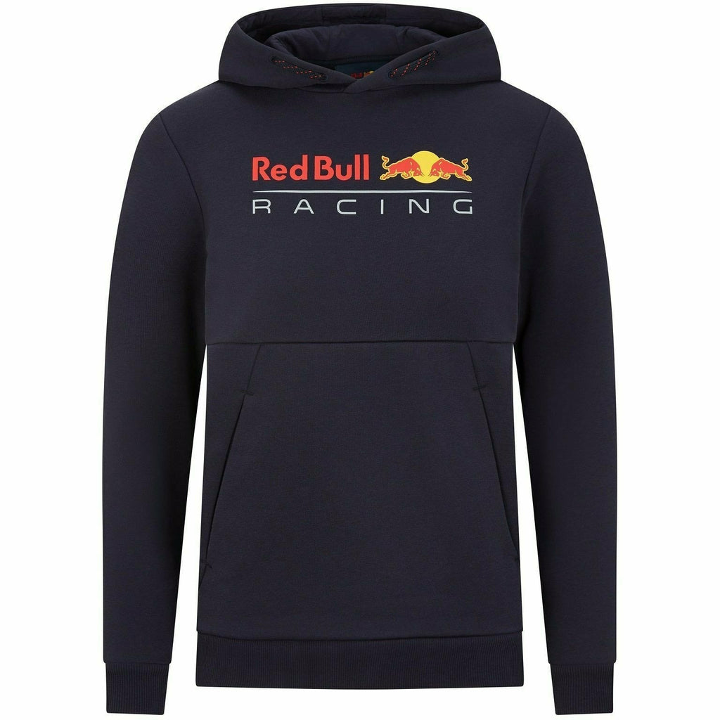 Red Bull Racing F1 Kids Pull Over Hooded Sweatshirt- Youth Navy