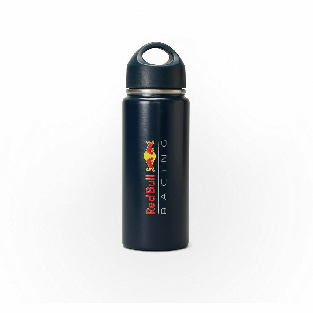 Red Bull Racing F1 Stainless Steel Water Bottle- Navy