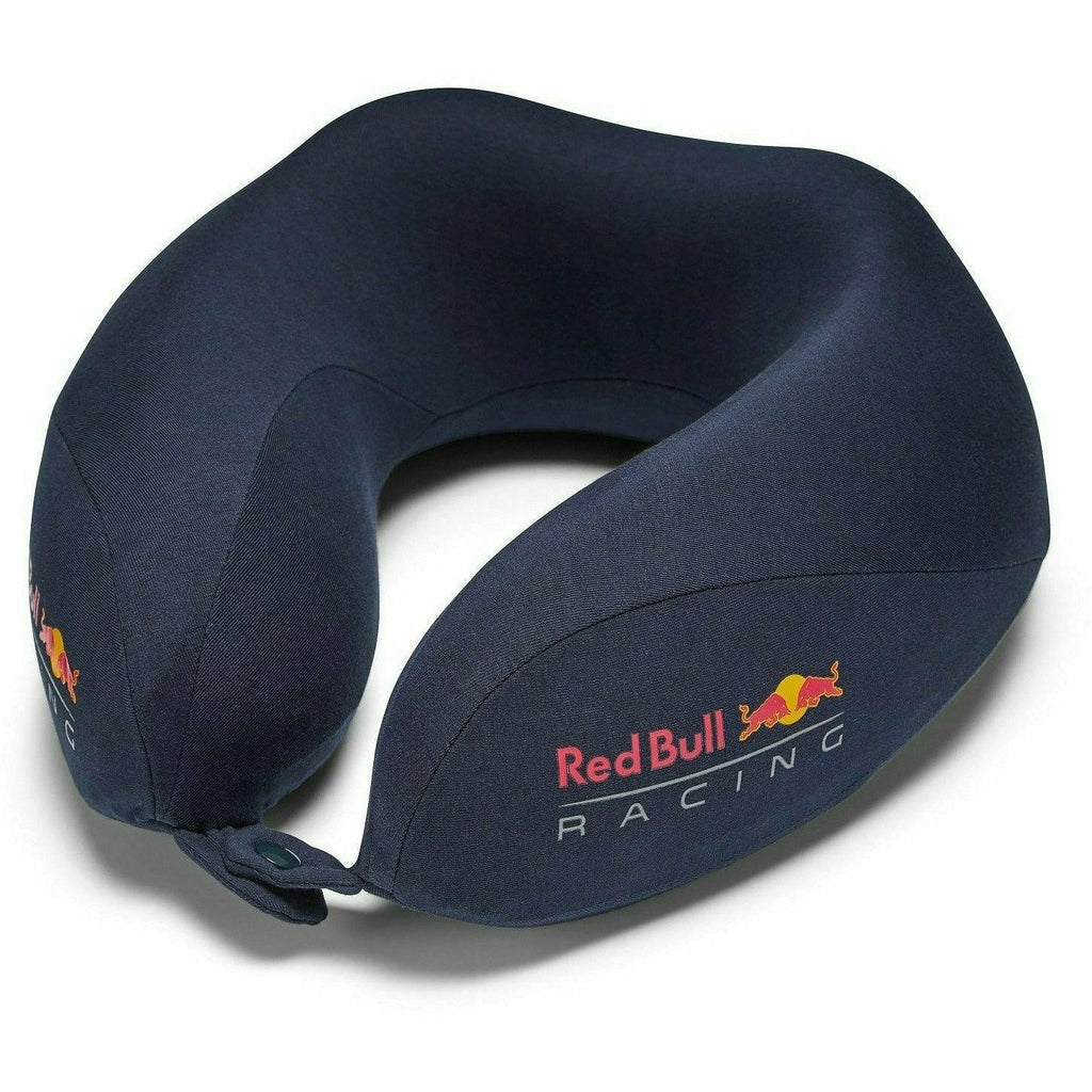 Red Bull Racing F1 Neck Travel Pillow - Navy