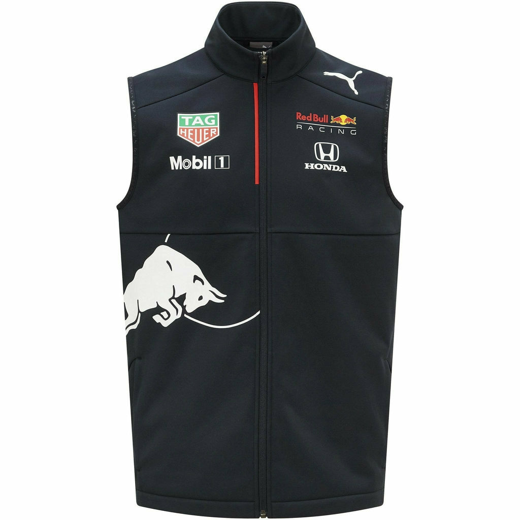 Red Bull Racing F1 Men's 2021 Team Vest- Navy