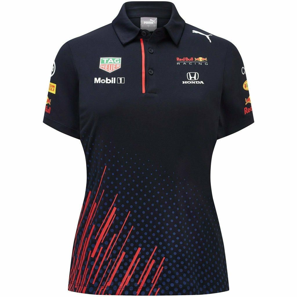 Red Bull Racing F1 Women's 2021 Team Polo Shirt- Navy