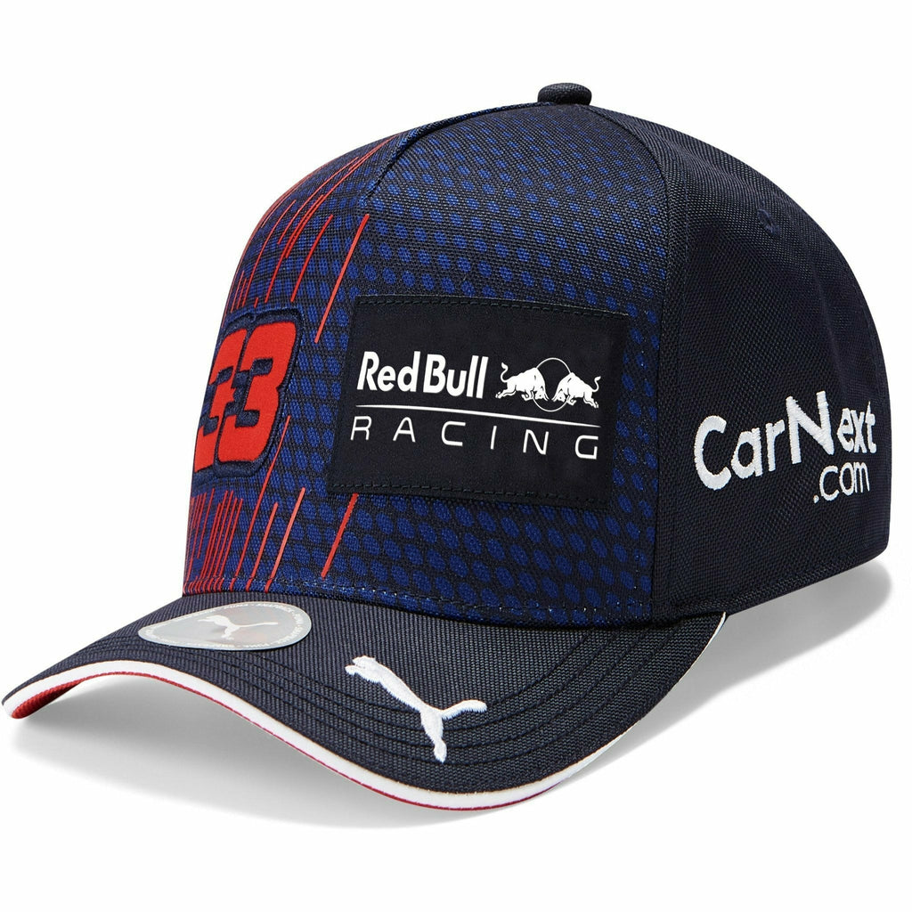 Red Bull Racing F1 2021 Kids Max Verstappen Team Navy Hat - Youth Baseball/Flatbrim