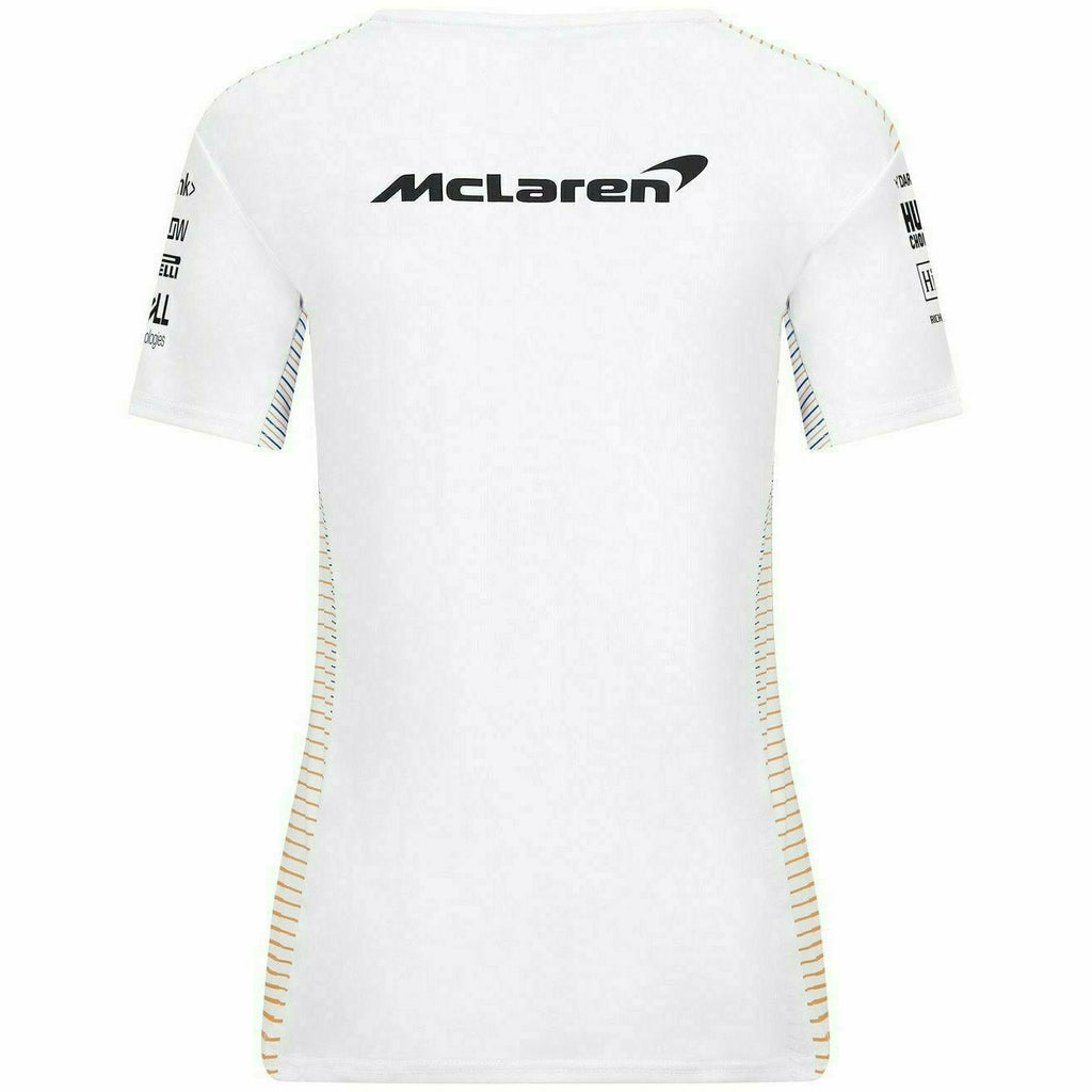 McLaren F1 Women's 2021 Team T-Shirt -White