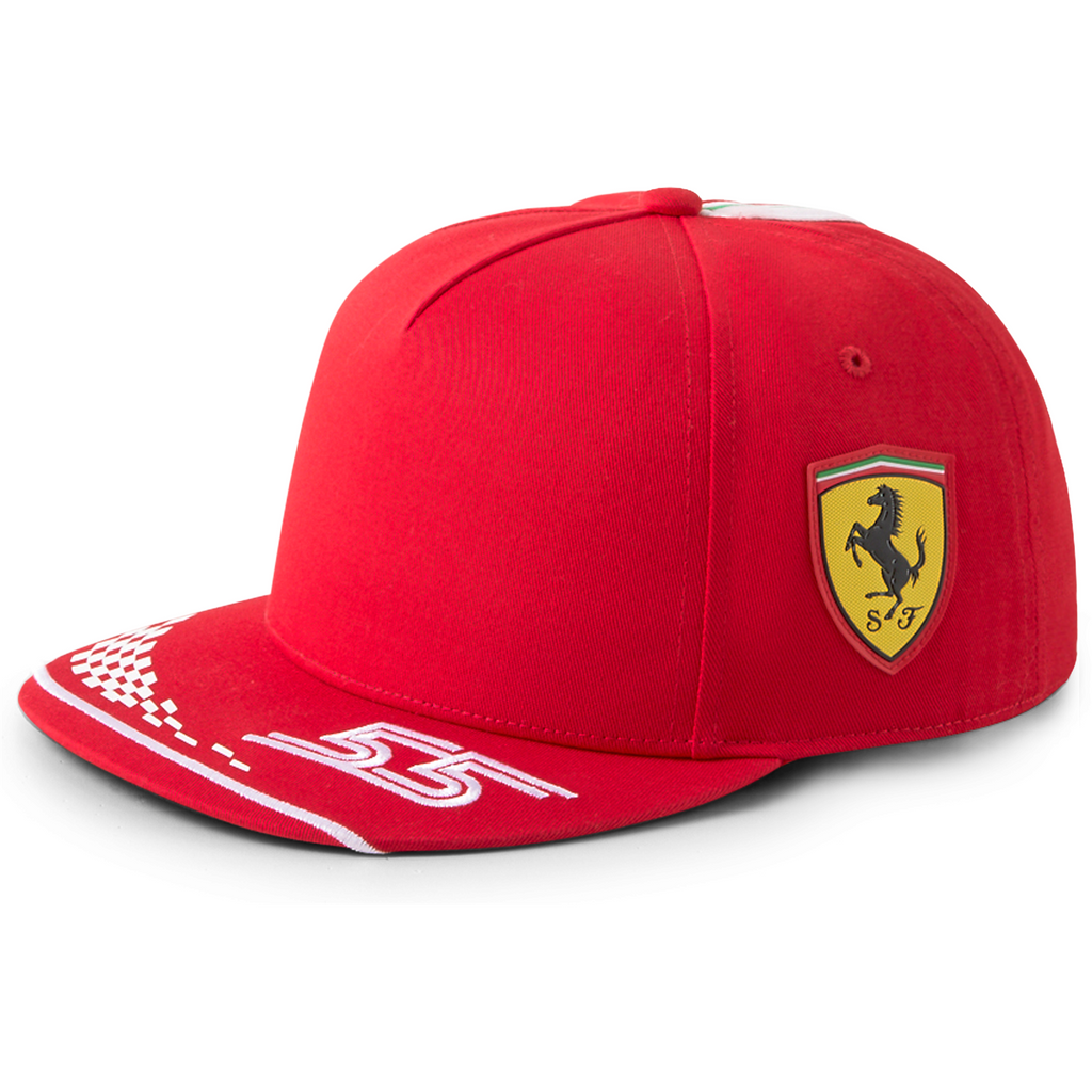 Scuderia Ferrari F1 2021 Carlos Sainz Team Hat- Red