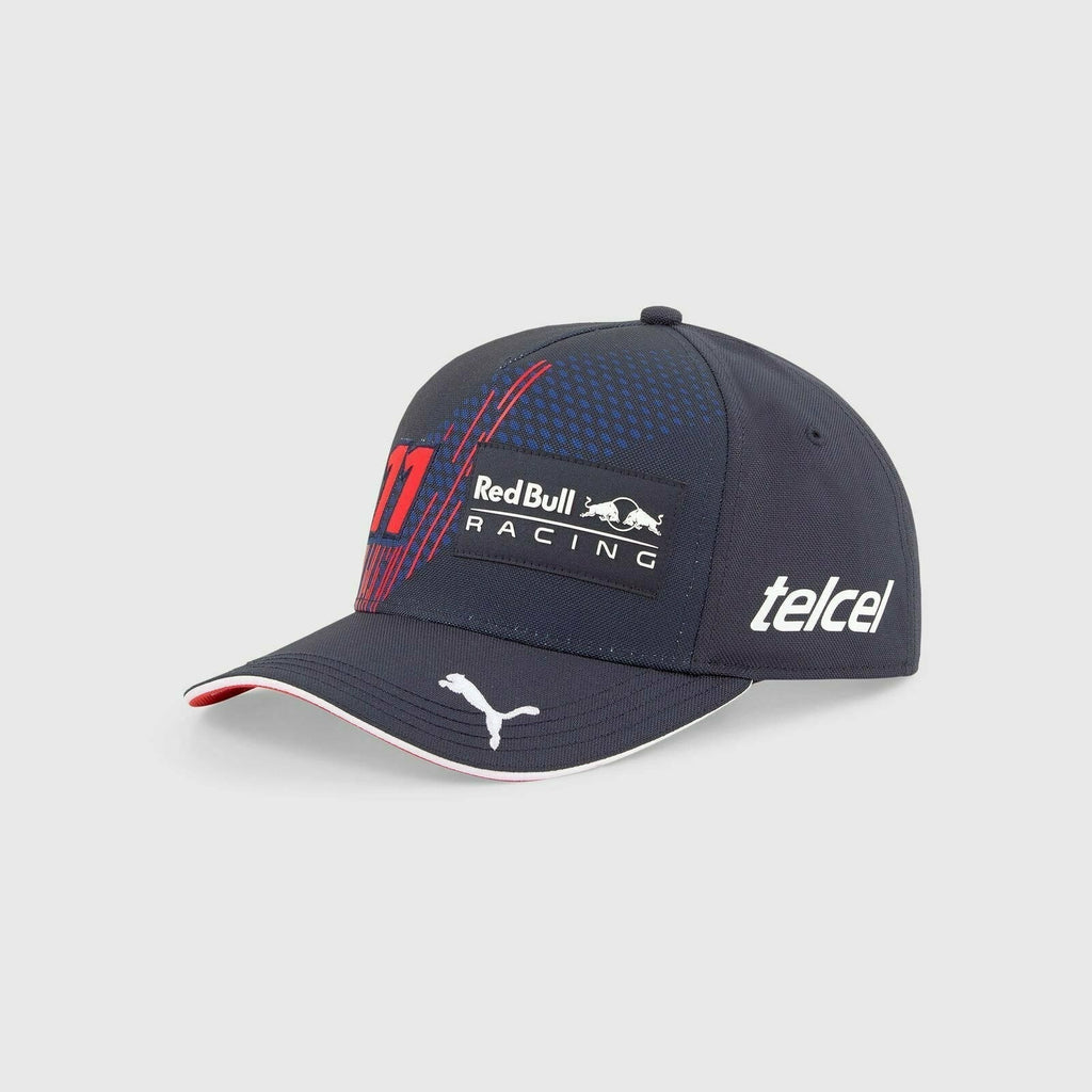"Red Bull Racing F1 2021 Kids Sergio ""Checo"" Perez Team Navy Baseball Hat - Youth"