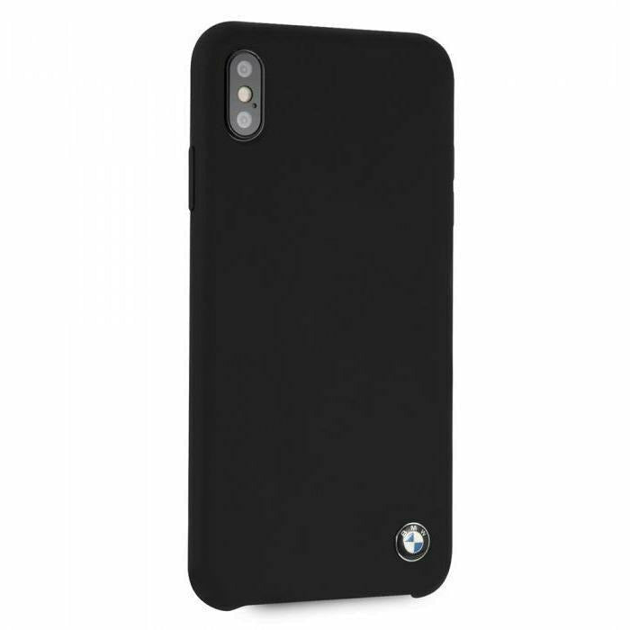 BMW Max Black Silicone Hard Case, iPhone XS Max