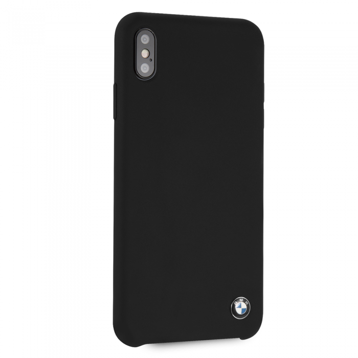 BMW Max Black Silicone Hard Case, iPhone XS