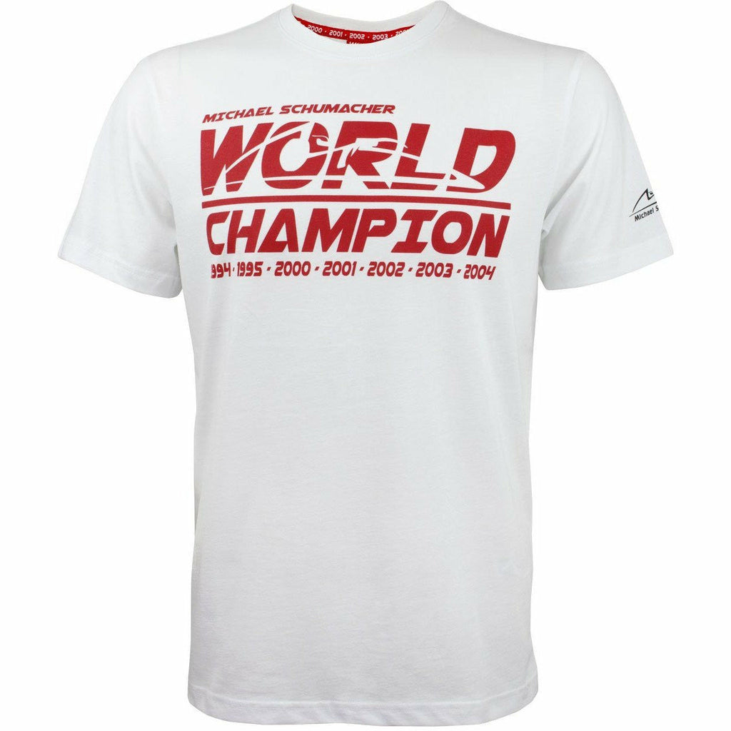 Michael Schumacher World Champion T-Shirt, White