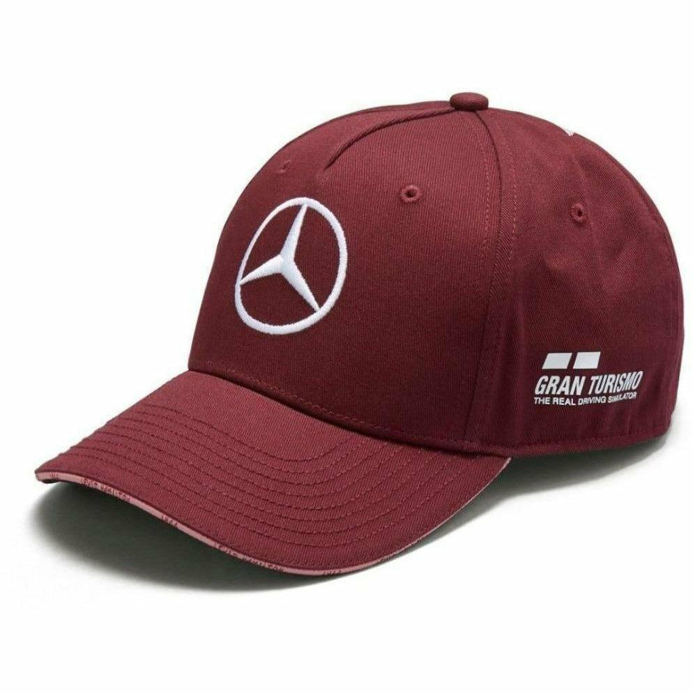 Mercedes Benz F1 Special Edition Lewis Hamilton 2018 Singapore Wine Red Hat e78096c1c71