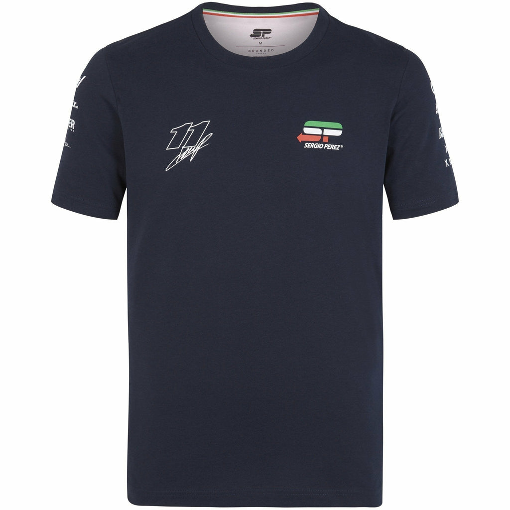 "Sahara Force India Formula 1 Sergio ""Checo"" Perez Blue Driver T-Shirt"