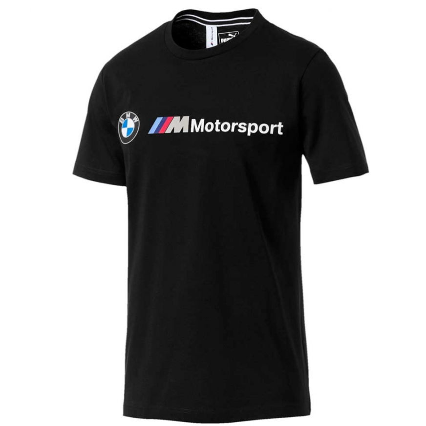 BMW Puma Motorsport Logo T-Shirt Black