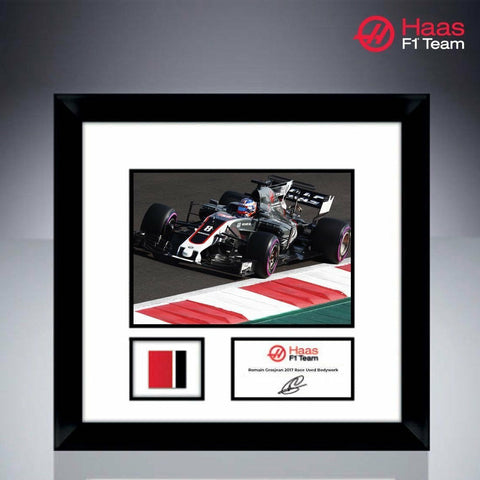 Haas Formula 1 VF-17 Romain Grosjean Bodywork and Photo