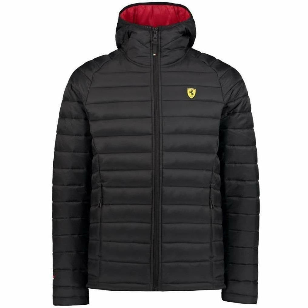 Scuderia Ferrari Formula 1 Men's 2018 Black Padded Jacket