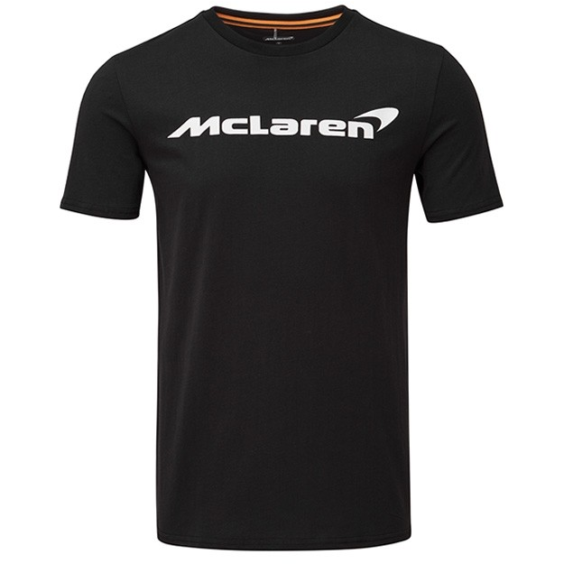 McLaren Essentials Black Logo T-Shirt