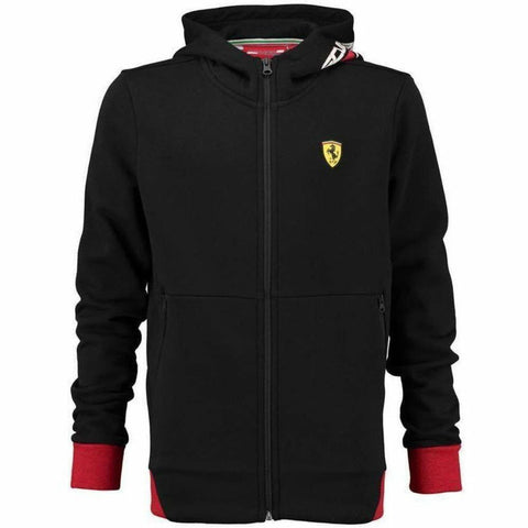 Scuderia Ferrari Formula 1 Kids 2018 Zip Up Black Hoodie