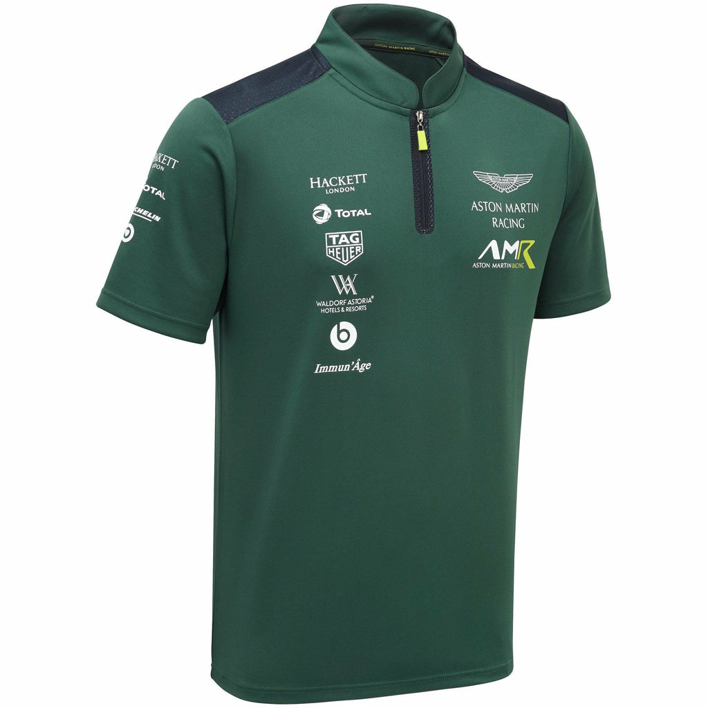 Aston Martin Racing 2019 Men's Team Polo Sterling Green