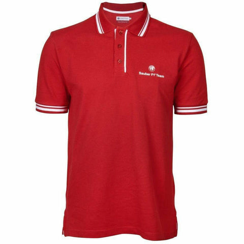 Alfa Romeo Sauber F1 Team Red Polo