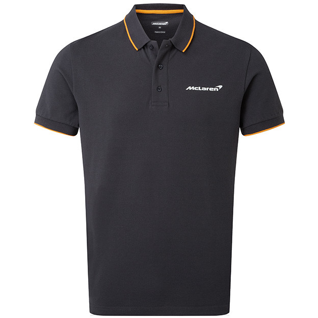 McLaren Essentials Gray Logo Polo