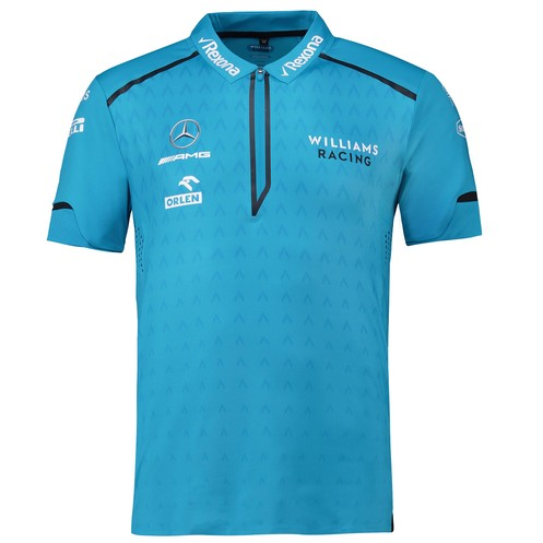 Williams Racing 2019 Men's Team Performance Polo Blue